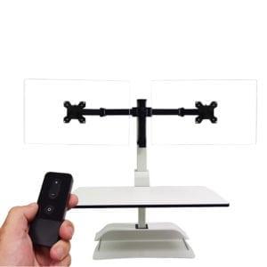 Economy Dual Monitor Sit-Stand Desktop