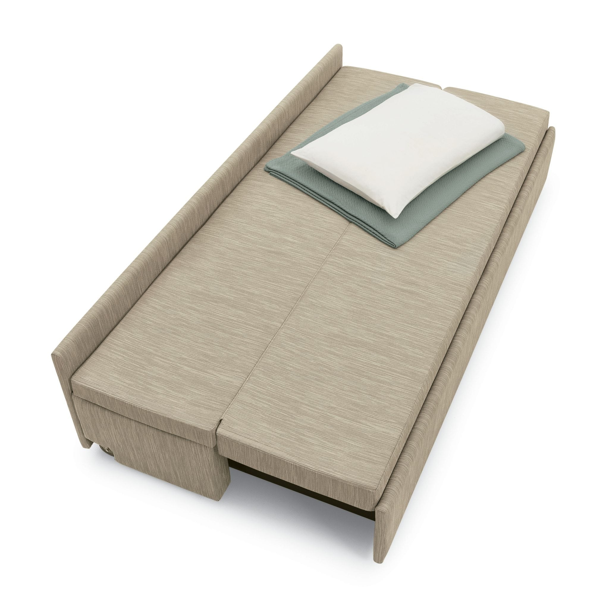 The Global Dreme Sleeper is ideal for a patient room or lounge area