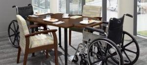healthcare dining set furniture