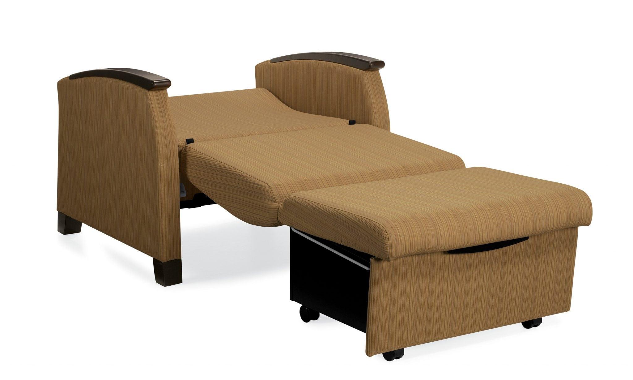 Global Primacare Sleeper Chair (open)