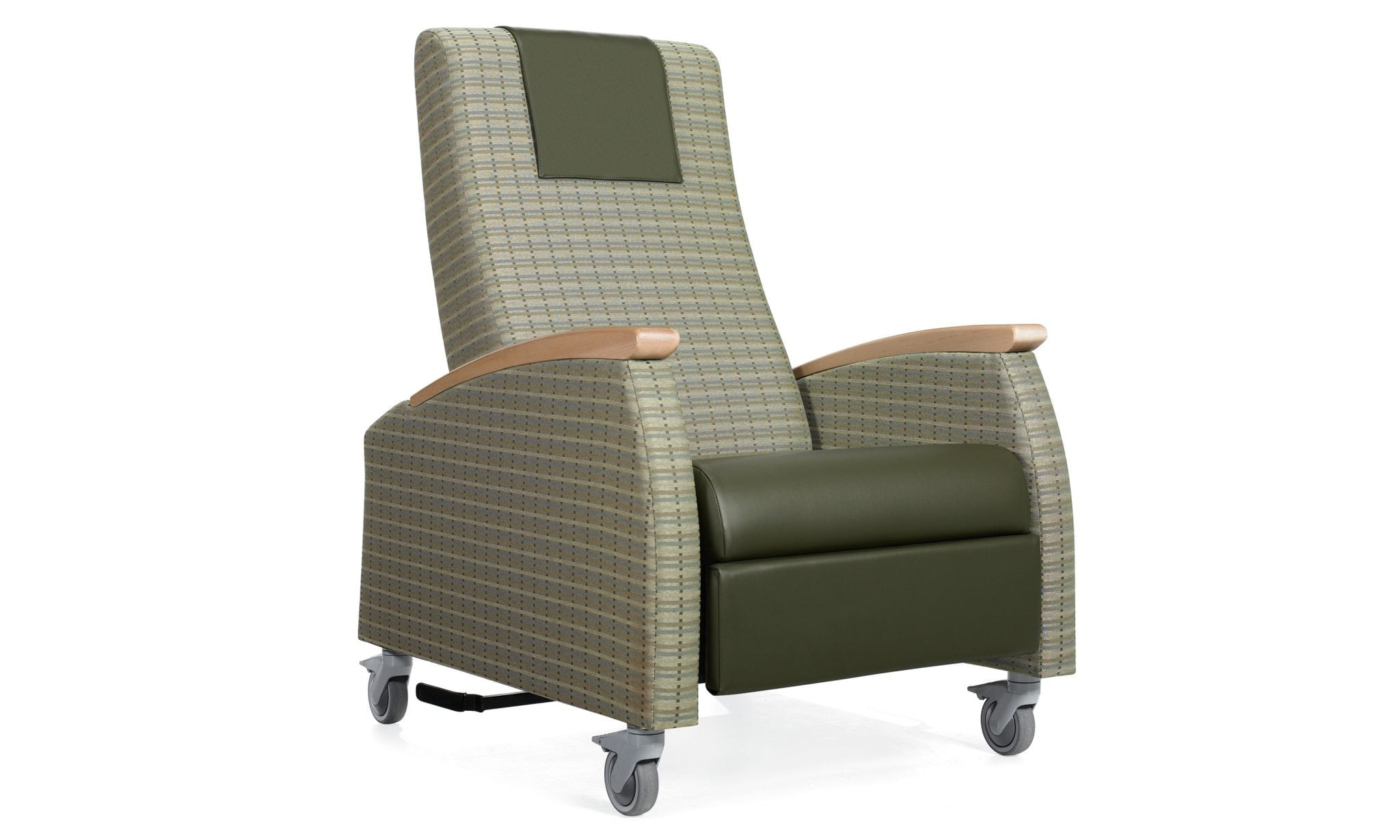 The Primacare Recliner is ideal for overnight in-room guests of all ages