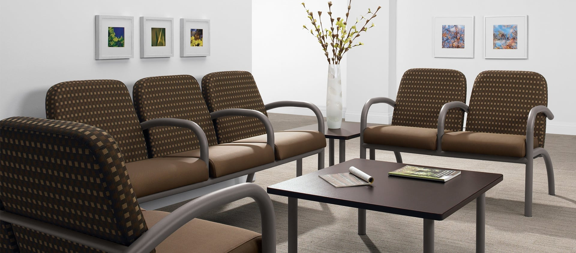The Global Furniture Group's Aubra series delivers comfort and durability in the most demanding environments.