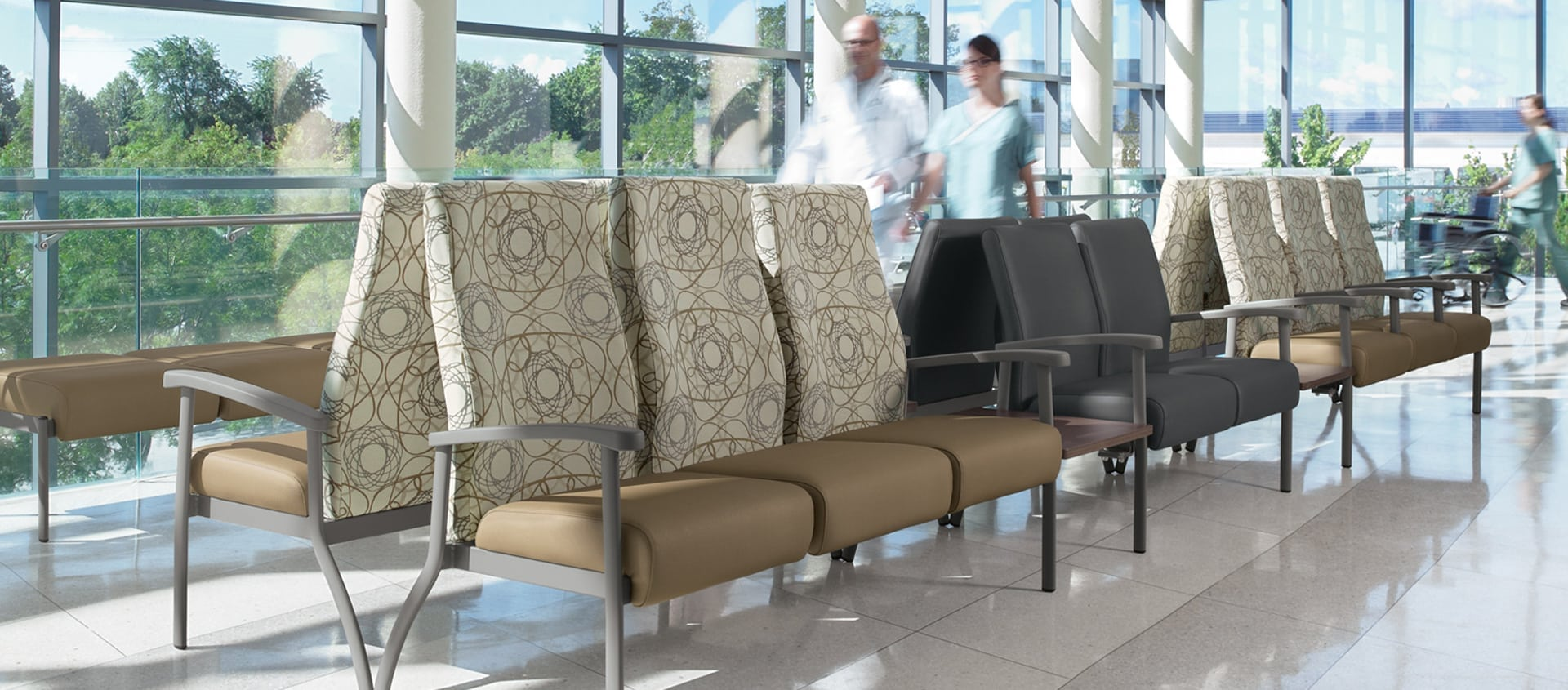 The Global GC Belong brings a classy look to your waiting room setting