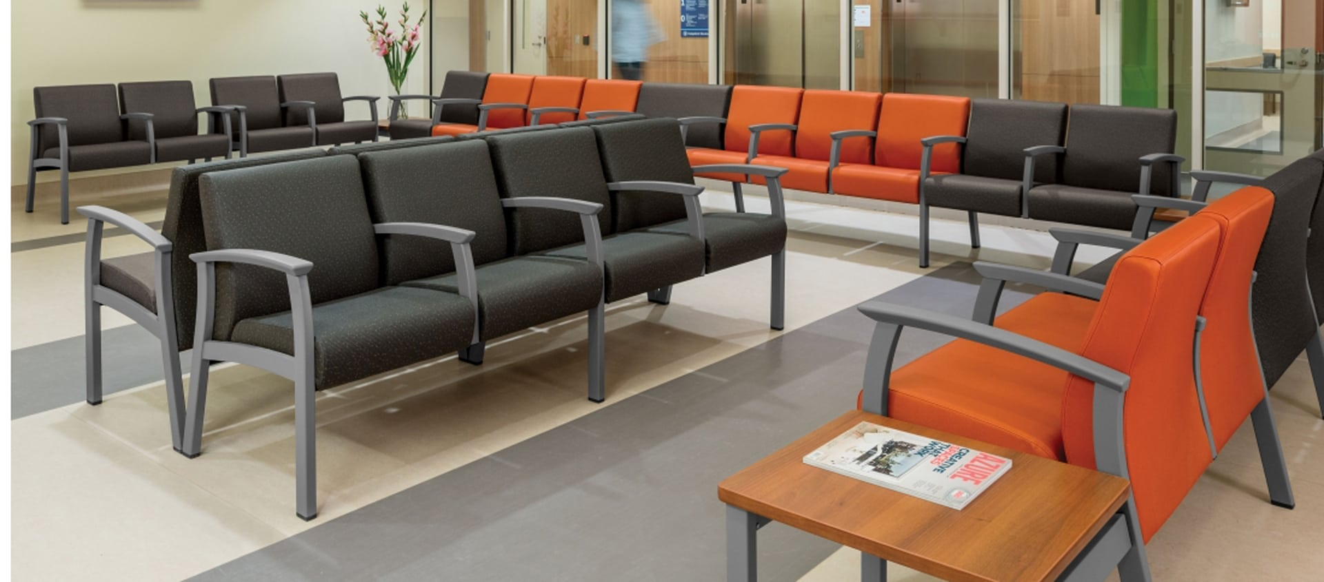 Primacare Modular offers exceptional comfort and replaceable components
