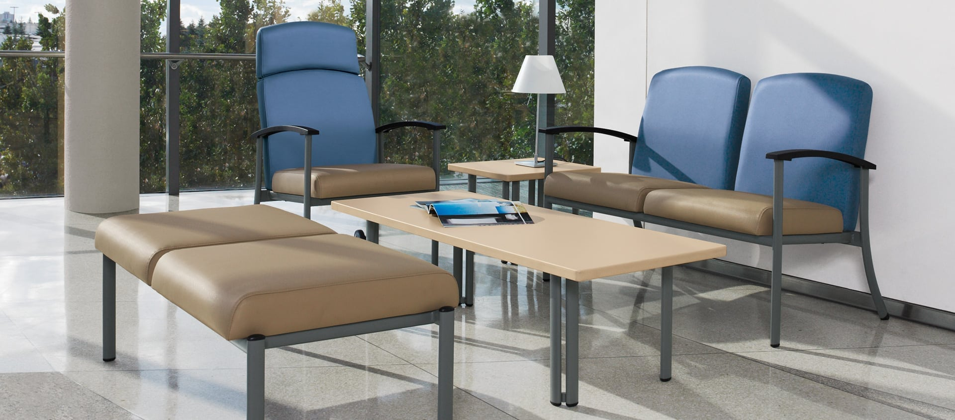 Global Furniture's Strand series is the perfect synthesis of versatility, comfort, durability and value