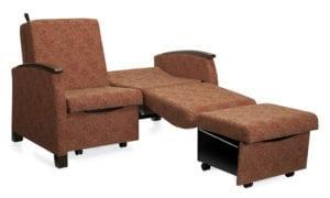 healthcare furniture hospital hospice sleeper