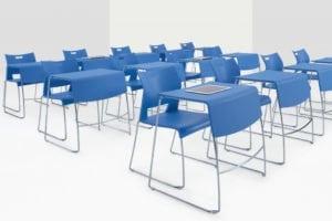 education classroom desks chairs