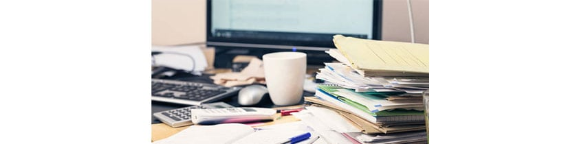 7 Tips for Uncluttering Your Desk and Organizing the Office