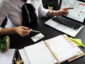 Uncluttering Your Desk cluttered desk