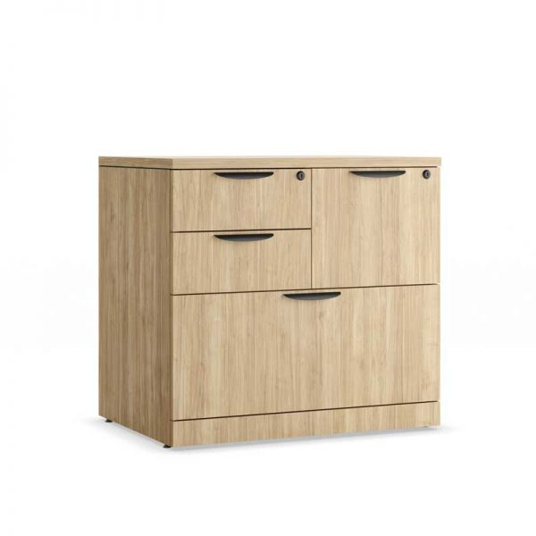 Lateral File & Box Drawer Combination