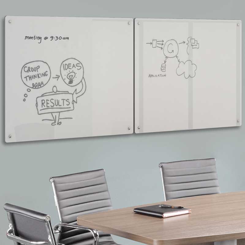 Conference Whiteboard With Cabinet   Office Furniture EZ