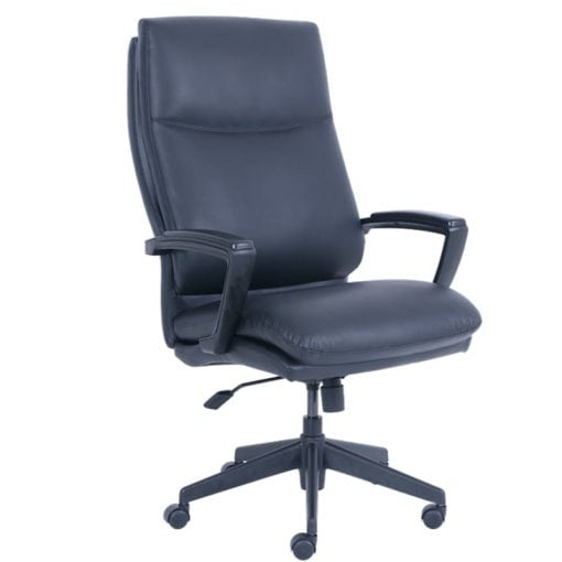 Serta Big And Tall Office Chair Black Leather Office Furniture Ez