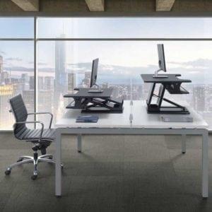 EZ Sit Stand Desk Riser
