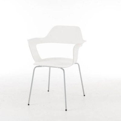 White Stacking Chair Tulip