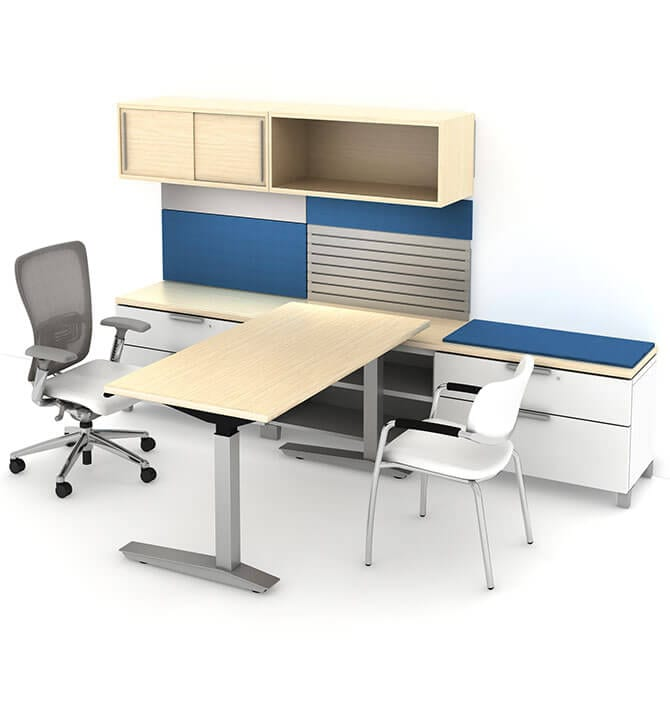 Keeping Your Cubicle Organized Overhead Storage