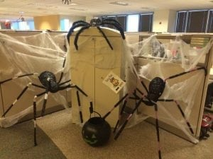 halloween ideas for the office cubicle decorating