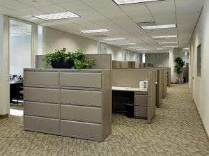 what size cubicles tall