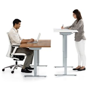 Manual Sit Stand Desk