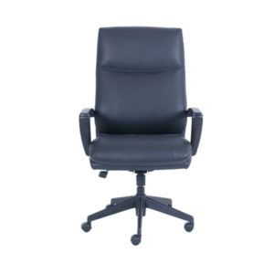 Serta Big and Tall Office Chair - Black Leather