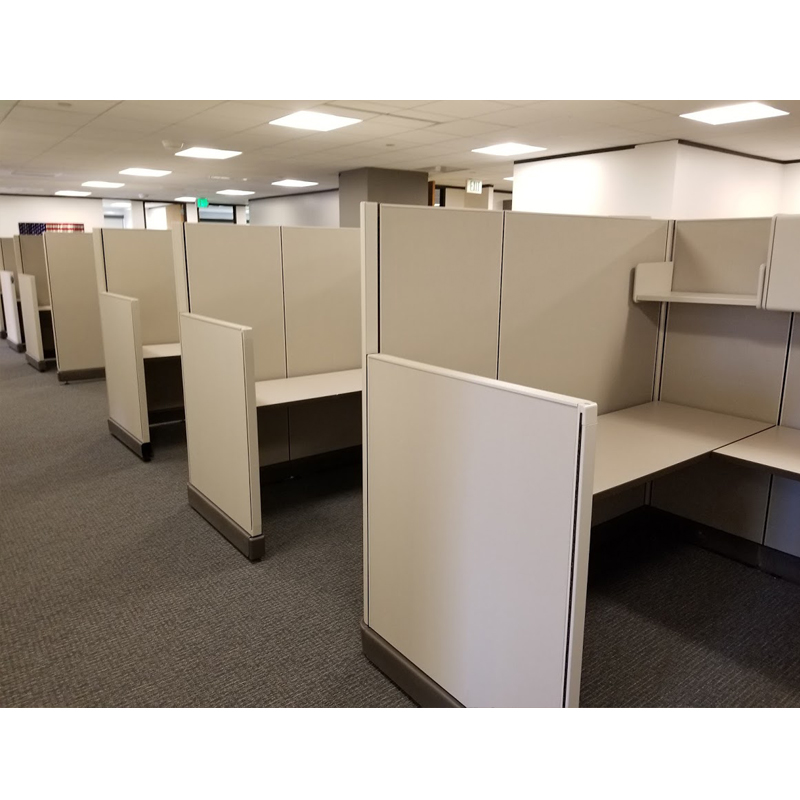 Used Cubicles Tall Herman Miller Office Furniture Ez