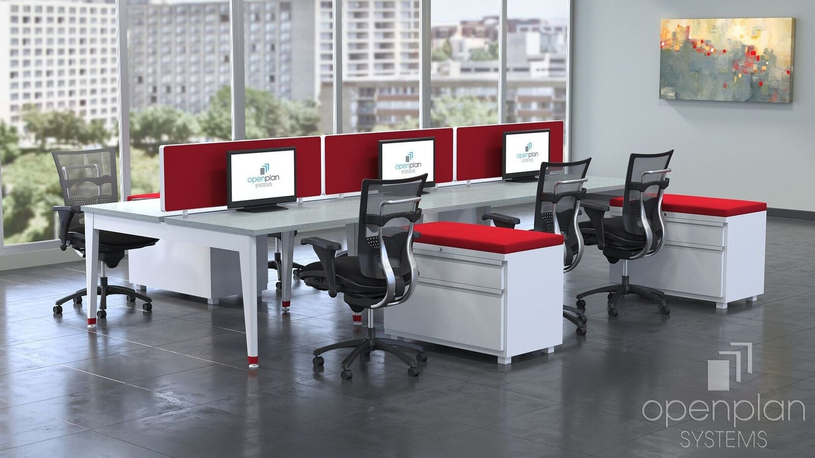 work tables for open office