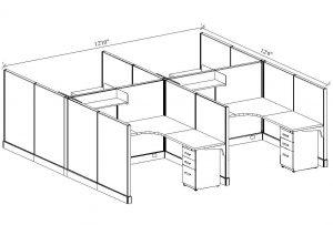 EZ U-Design-It Cubicle