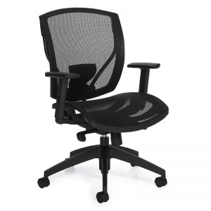 Weight Sensing Mesh Chair