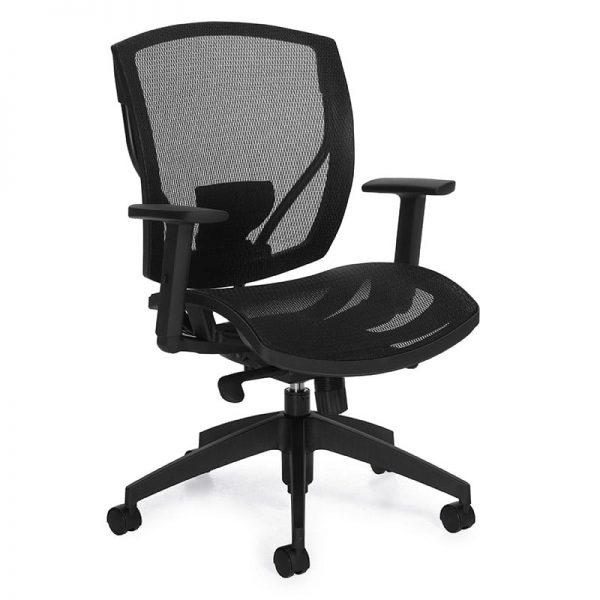 Weight Sensing Mesh Chair