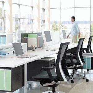 Collaborative Desk Options by Bridges II