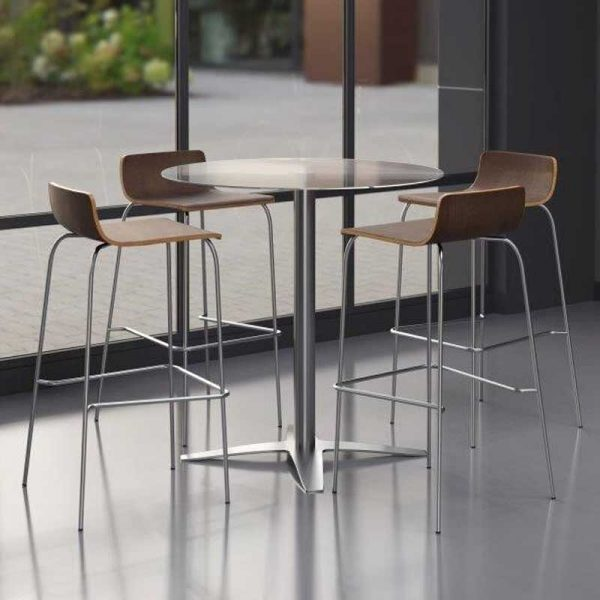 Glass Top Table - Available in Standard, Medium & Tall Height