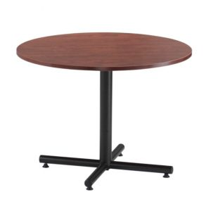 Multi-Use Round Table, Black X-Base