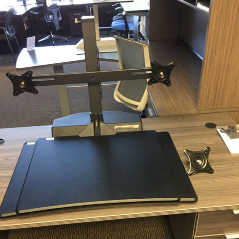 Powered Standing Desk - Desktop Riser