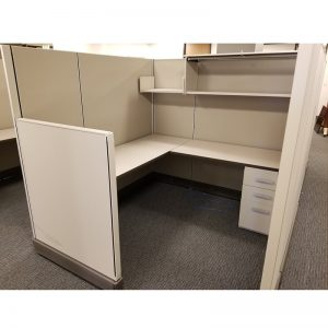 Tall-Height Used Cubicles - Herman Miller - Standing Privacy