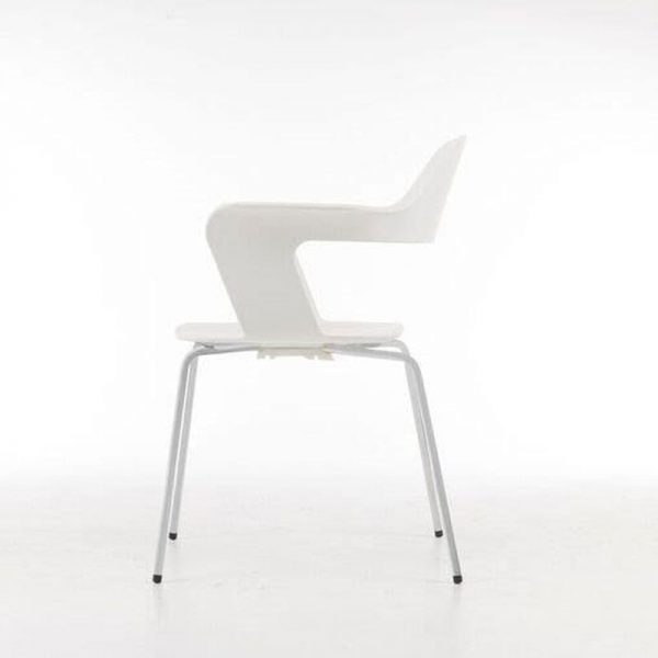 """White Stacking Chair - """"The Tulip"""""""