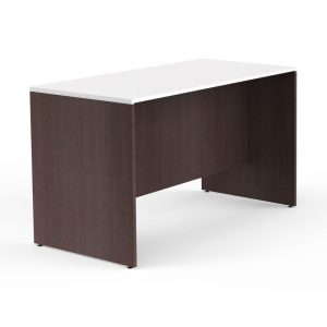 Tall White Top Wooden Desk