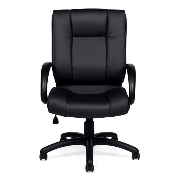 Plush Manager High Back Leather Chair