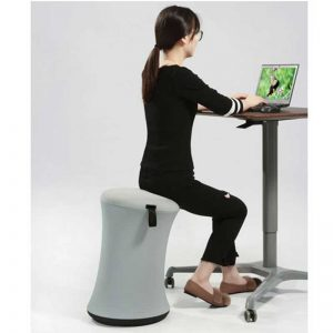 Height Adjustable Stool Spool Chair