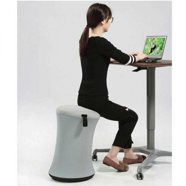 Height Adjustable Stool Spool Chair