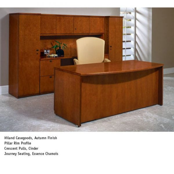 National Premium Veneer Desking Options