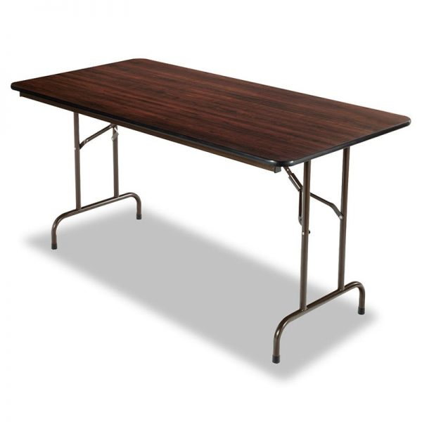 Walnut Folding Table 48-72""