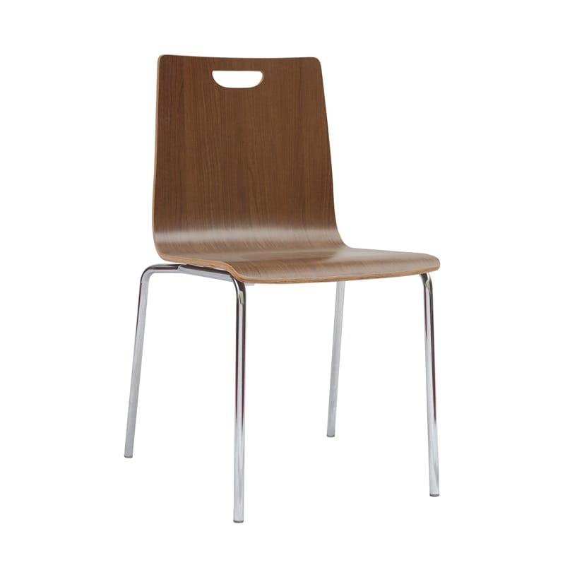 """Stackable Chair - Sleek, Minimalist Design - Wooden """"Bleeker Street"""""""