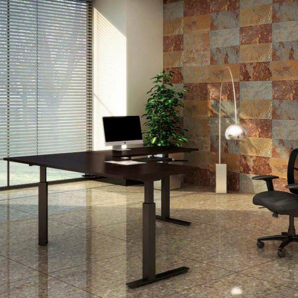 Corner Sit Stand Desk