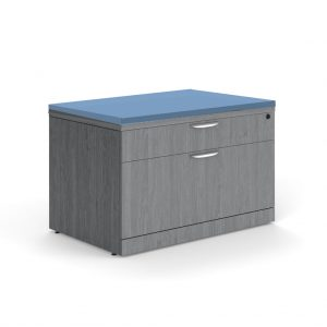 Personal 2 Drawer Lateral File Cabinet with Cushion