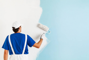 cleaning & sanitizing painting walls