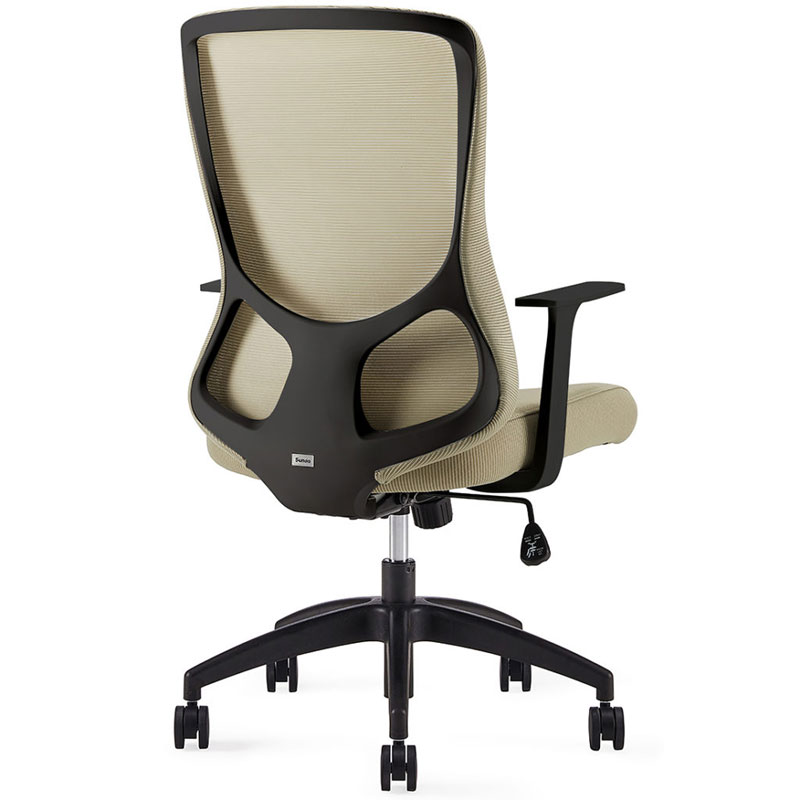 Comfortable-Office-Chair-The-Alien-green-back