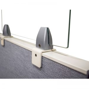 Cubicle Divider Screen Mounts