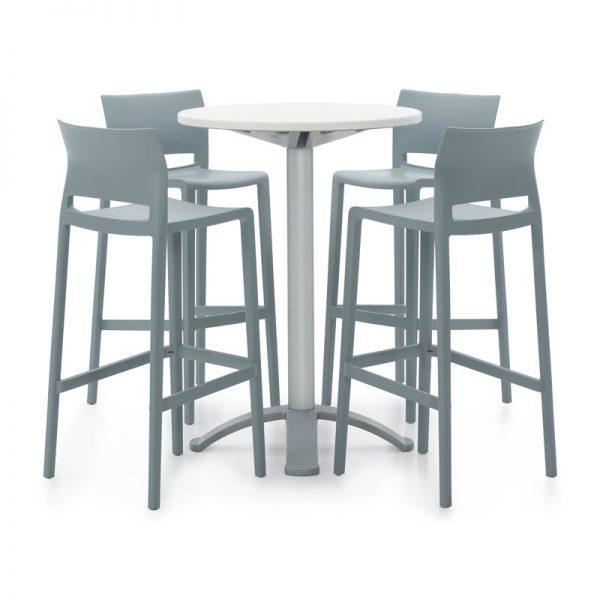 Indoor Outdoor Plastic Chairs & Tables