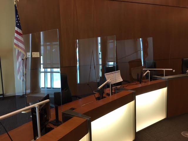 Chamber Desks - After