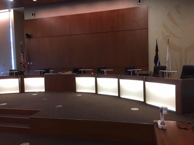 Chamber Desks - Before