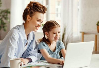 Homeschooling-Desk